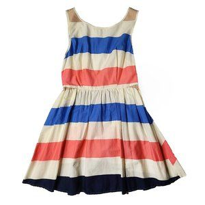 Forever 21 Pink and Blue Striped Dress